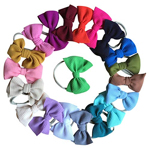 Baby Girl's Beautiful Headbands Newborn,Toddler and Kids Elastic Hairband for Photograph -