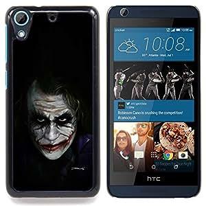 For HTC Desire 626 Case , Personajes de Películas Bat Broma Negro - Diseño Patrón Teléfono Caso Cubierta Case Bumper Duro Protección Case Cover Funda