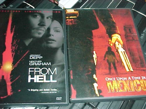 From Hell , Once Upon a Time in Mexico : Johnny Depp 2 Pack Collection