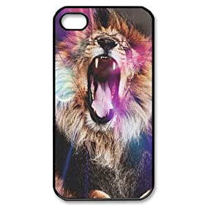 Lion Brand New Cover Case for Iphone 4,4S,diy case cover ygtg541333