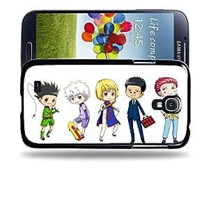 Case88 Designs Hunter X Hunter Gon Freecss & Killua Zoldyck & Kurapika Protective Snap-on Hard Back Case Cover for Samsung Galaxy S4 by supermalls