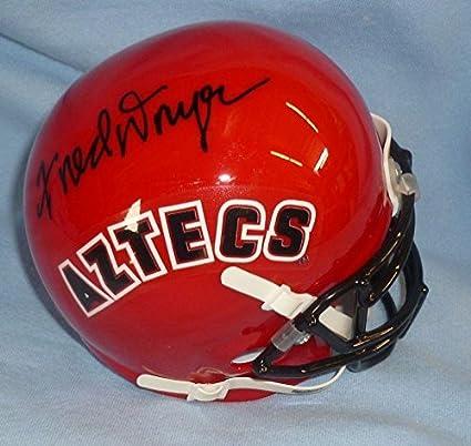 Fred Dryer Signed Hunter 8x10 Photo Picture PSA//DNA COA Autograph Ram SDSU Aztec