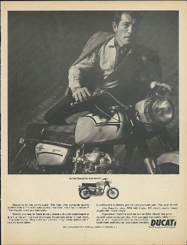 A motorcycle it ain't. Vespa Motorscooter ad (Am Cycles)