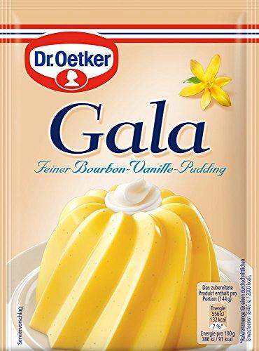 Dr. Oetker Gala Pudding-Pulver bourbon Vanille, 11er Pack (11 x 1.5 l Beutel)