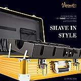 Vincent Master Case Travel Stylist Barber Case, Large, Gold