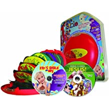 Easter Kid's Audio Bible-Free Easter DVD a 2nd Free Audio Bible on MP3-Bible Stories for Kid's-Bible Stories for Children with 103 Kid's ... Home School Curriculum 15 Audio CDs-1MP3-1DVD