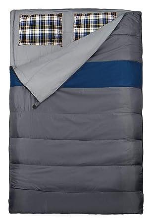 Explorer Duo Doppelschlafsack - Saco de Dormir Momia para Acampada, Color, Talla 220 x 150 cm: Amazon.es: Deportes y aire libre