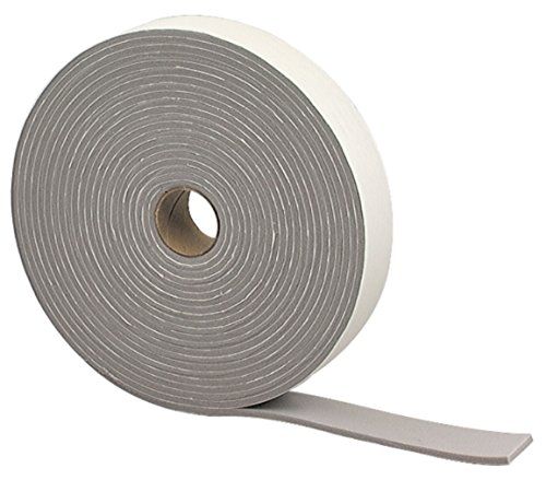 Closed Cell Foam Cushions - M-D Building Products 2352 Camper Seal Tape, 3/16-by-1-1/4-Inch by 30 feet, Gray