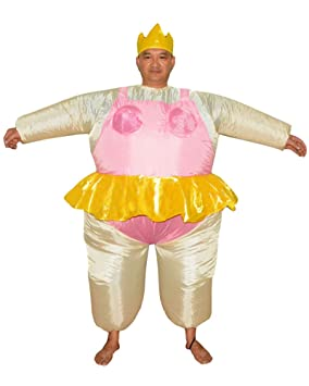 LaoZan Traje de Sumo Wrestler Disfraz de Halloween Traje ...