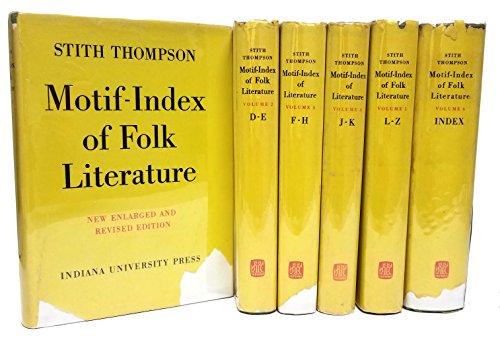 Motif-Index of Folk-Literature (6 vol.) (Motif Index)