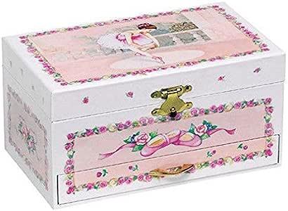 Goki Ballerina IV - Caja de música con cajones y Bailarina: Amazon ...