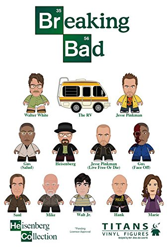 Breaking Bad Titans Heisenberg Collection Random Mini Figure