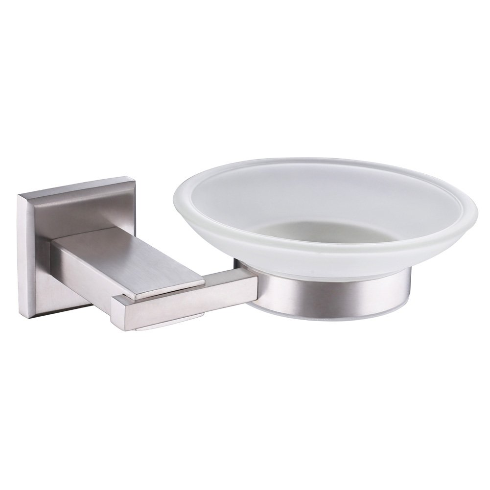 Amazoncom Wall Mount Soap Dish And Holder Angle Simple Sus304