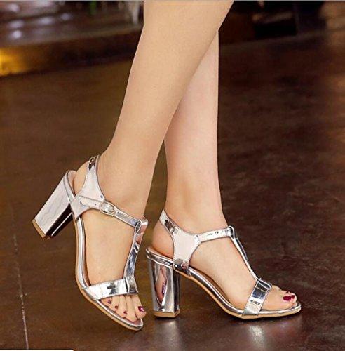 Joker Zapatos De Mujer Blanco Moda Verano Sandalias Dama z8pEqI