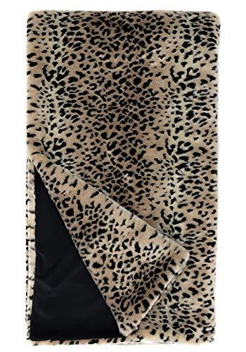 Cheetah Faux Fur Throw - Donna Salyers Faux Fur Throw Blanket - Cheetah (60x86)
