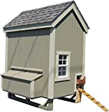 4x6 chicken coop - Little Cottage Company Colonial Gable Coop 4'x6' DIY Chicken Coop Kit