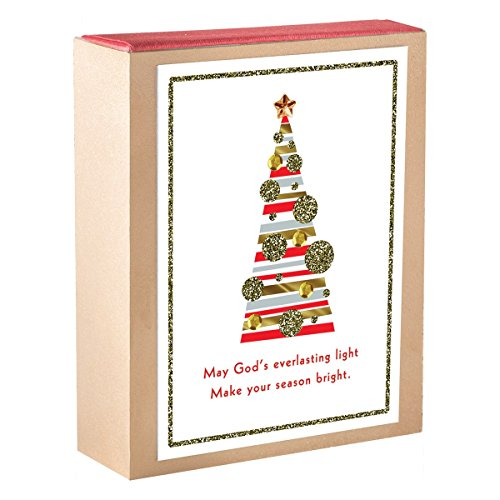 (Christmas Boxed Cards - Christmas Tree Ornaments)