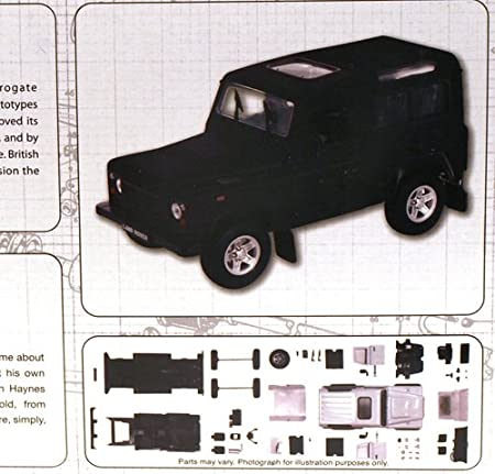 Haynes Build Your Own Land Rover Amazon Co Uk Kitchen Home