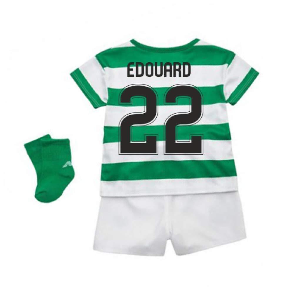 UKSoccershop 2018-2019 Celtic Home Baby Kit (Odsonne Edouard 22)