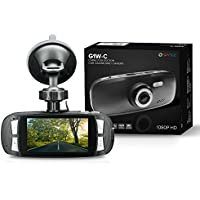 Spy Tec G1W-C Capacitor Model Dash Cam Heat Resistant Full HD 1080P 2.7 LCD Car DVR Video Recorder with Novatek NT96650