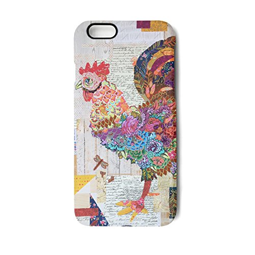 Iphone 6 6s Case hen chicken design art poster Slim Flexible Soft Silicone Bumper Shockproof Gel TPU Rubber Glossy Skin Cover Case