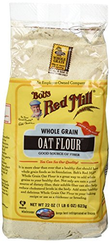 Bobs Red Mill Flour Oat 22.0 OZ(Pack of 6)