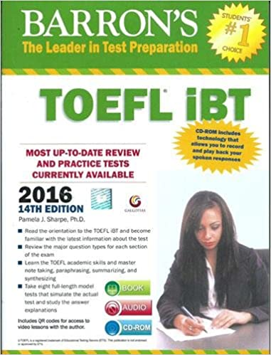 Buy barrons toefl ibt 2016 guide with dvd book online at low buy barrons toefl ibt 2016 guide with dvd book online at low prices in india barrons toefl ibt 2016 guide with dvd reviews ratings amazon fandeluxe Images