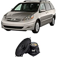 Fits Toyota Sienna 2004-2010 Front Door Factory Replacement Harmony HA-R68 Speakers New