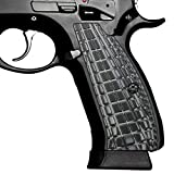 (US) G10 Grips for CZ 75 SP-01 Shadow, Grenade Pattern, Cool Hand Brand Gray/Black