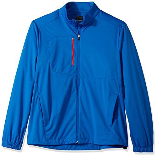 Greg Norman PGA Adult Men Full Zip Weatherknit,X-Large,Maritime -