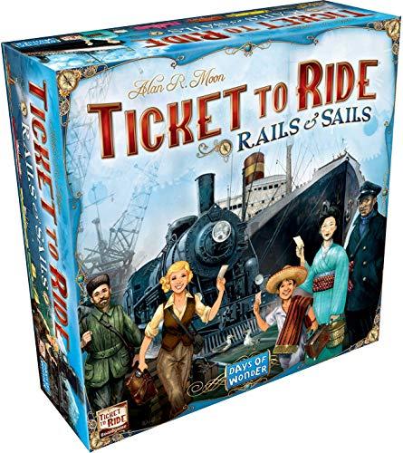 Ticket to Ride - Rails & covid 19 (Rails Board Game coronavirus)