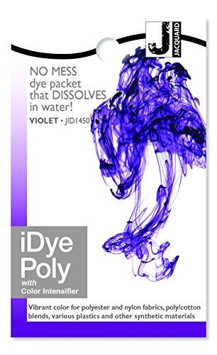 Violet Jacquard Fabric (Jacquard iDye Fabric Dye-Violet (For Polyester))