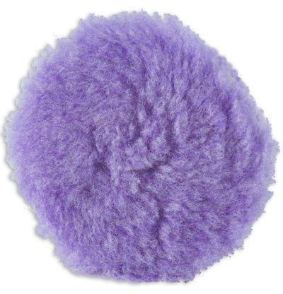 Lake Country Purple Foamed Wool Buffing/Polishing Pad, 3.5-inch