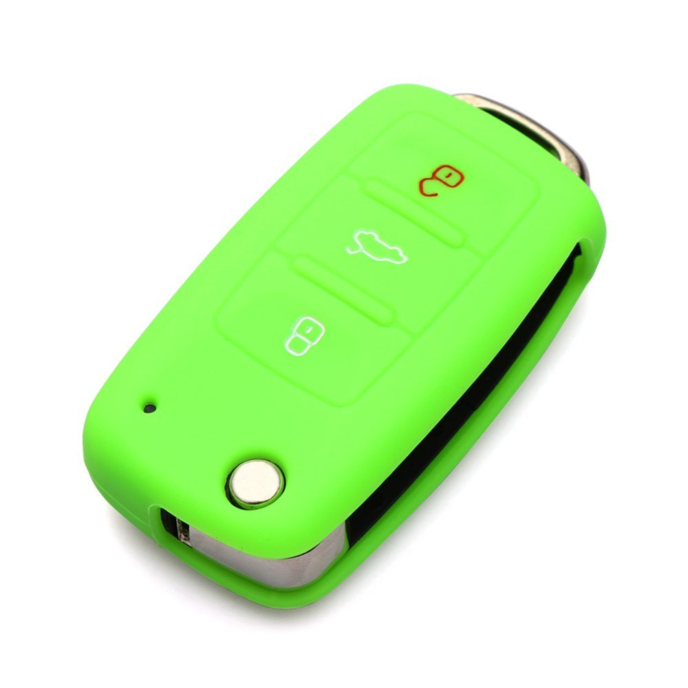 9 Moon® Silicone Remote Flip Key FOB Silicone Case Cover For VW Volkswagen New by 9 MOON (Image #5)