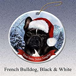 Great Gifts For Dog Lovers | French Bulldog Christmas Ornaments