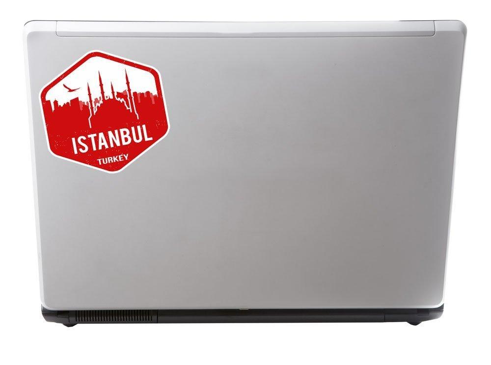2/x Turquie Istanbul Sticker en vinyle pour ordinateur portable Voyage Bagage Voiture Panneau iPad Fun # 5328-30cm//300mm Wide