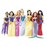 Disney Princess Shimmer Doll Collection