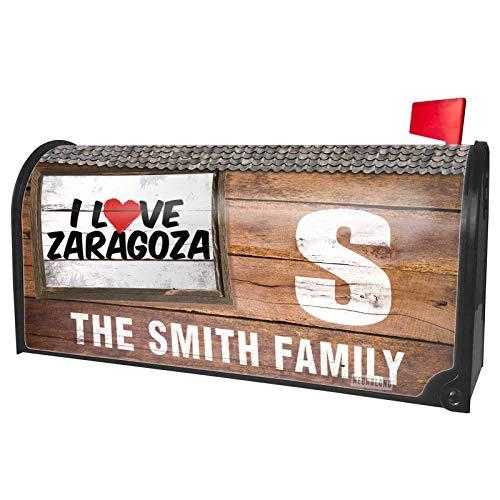 NEONBLOND Custom Mailbox Cover I Love Zaragoza]()