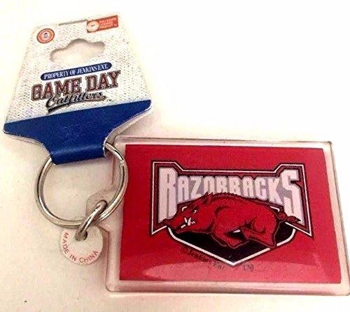 NCAA University of Arkansas Razorbacks Key Chain GAME DAY Outfitters -