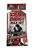 Screamin Energy Max Hit Energy Shot Panax Ginseng! Coffee Mocha Flavor- 24 Packs