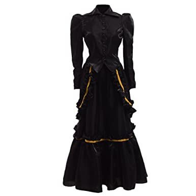 Image result for GRACEART Steampunk Edwardian Dress Gown Jacket and Skirt Suits With Bustle