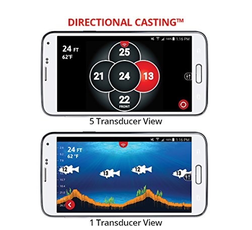 Fishhunter Directional 3d Wireless Portable Fish Finder