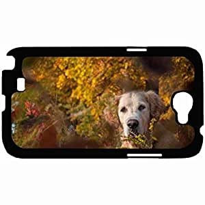 Customized Back Cover Case For Samsung Galaxy Note 2 Hardshell Case, Back Cover Design Dog Personalized Unique Case For Samsung Note 2