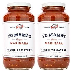 Yo Mama's Keto Friendly Marinara Pasta S...