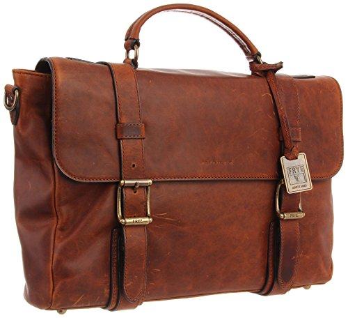 FRYE Logan Antique Flap Briefcase