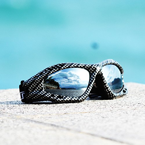 Floating Goggles Expert Carbon Fiber Sunglases for Water Sports - Sports Sunglases