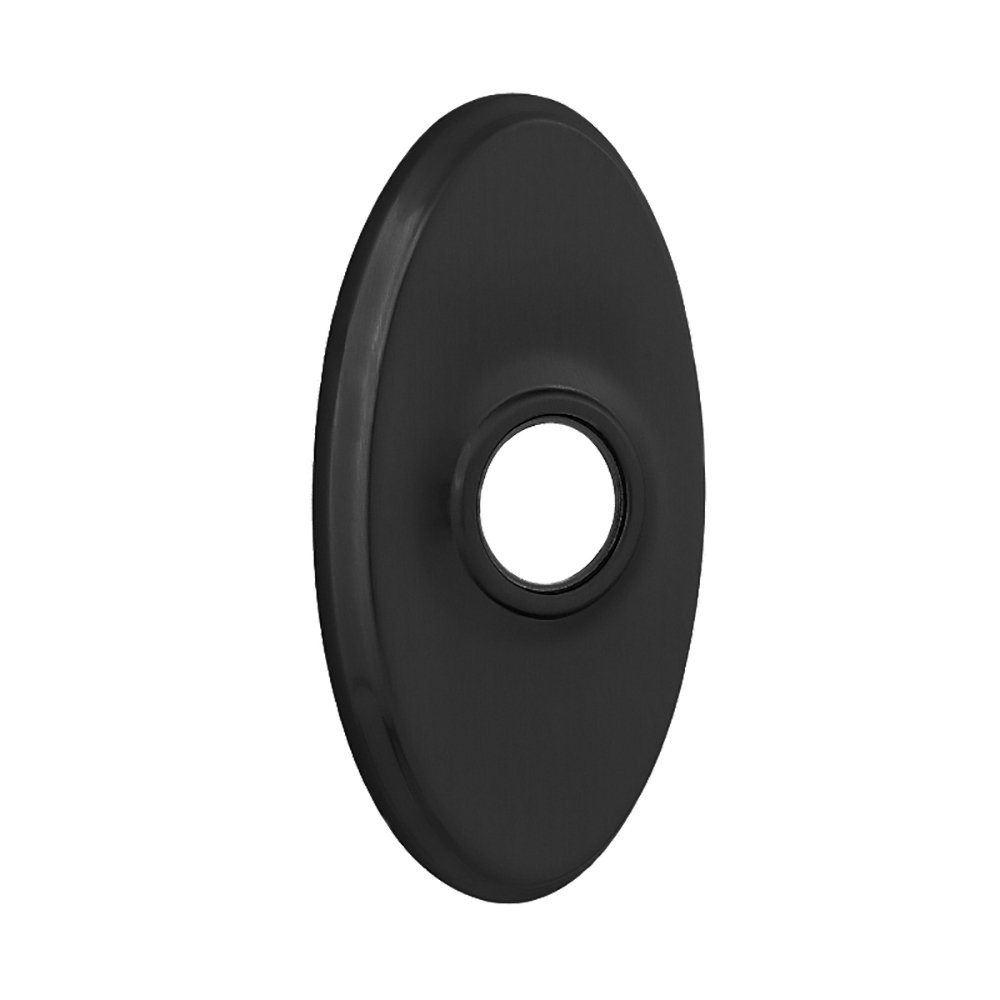 Kwikset 83318 Oval Rose Cover for Kwikset Reversible Levers, Iron Black by Kwikset