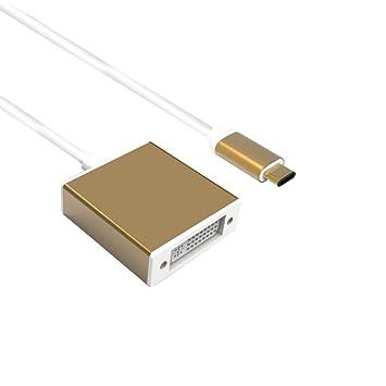 Adaptador HDMI tipo C USB Thundeal, USB 3,1 tipo C Reversible (usb ...