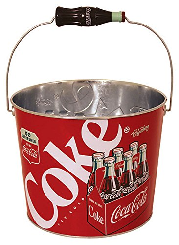 Coca Cola Coke Retro Beverage Bucket