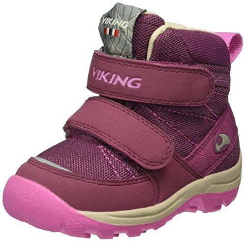 Pink Pink Dark 6239 Mixte Rissa Rose Viking Enfant Plum Bottines 1awqpC